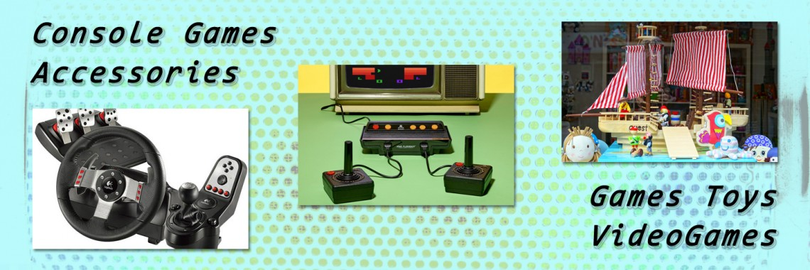 Console Videogames Controller Accessories Games Toys